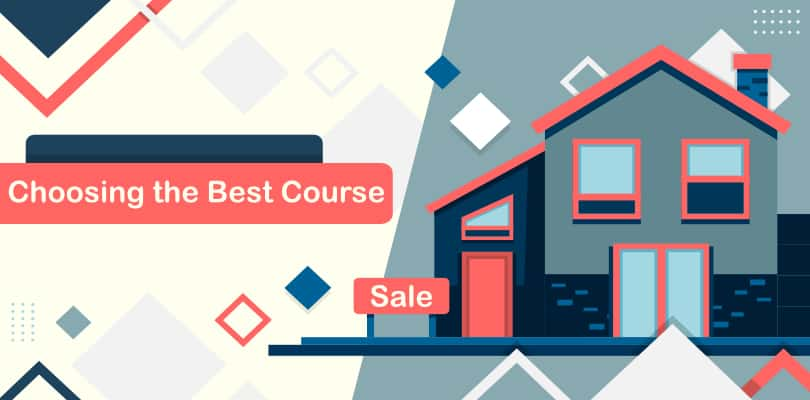 Image of Tips to choose the best real estate courses online