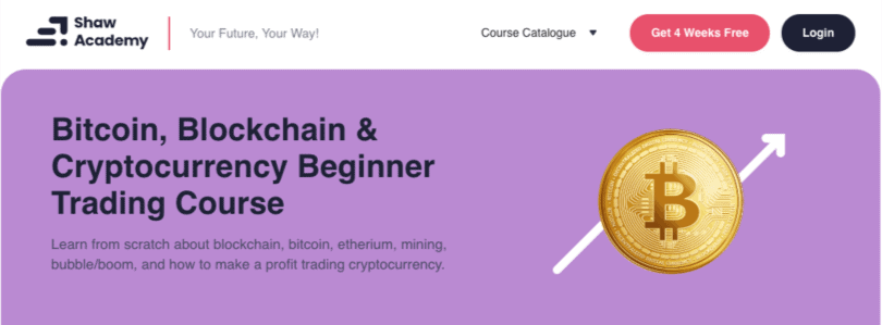 Image Cryptocurrency Course - Beginner Bitcoin trading course Shaw Academy