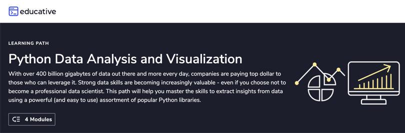 Image Data Analytics Courses - Data Analysis & Visualization, Educative