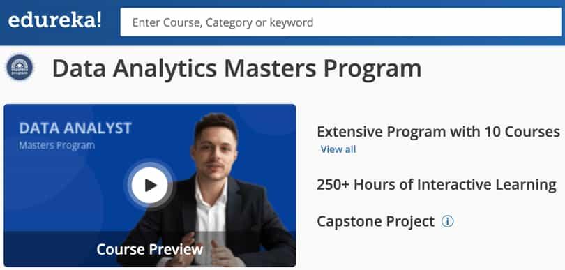 Image Data Analytics Courses - Data Analytics Masters, Edureka