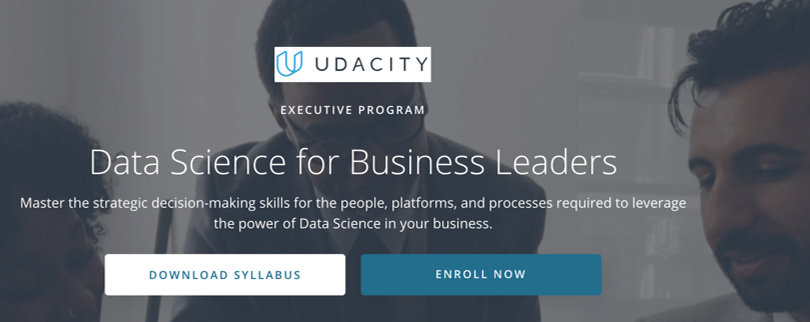 Image Data Science Courses - Data Science for Business, Udacity