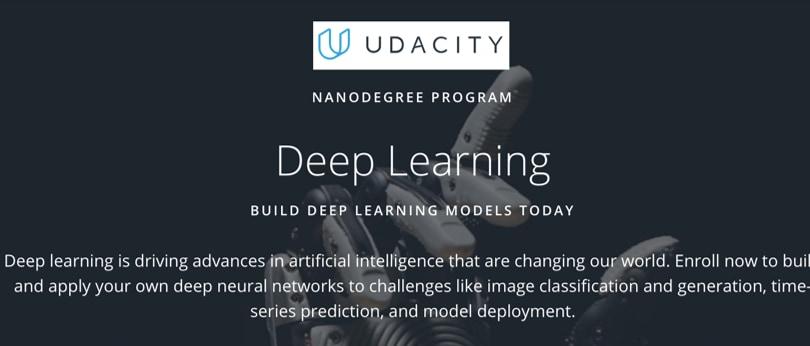 Image Deep Learning Courses - Deep Learning Models, Udacity