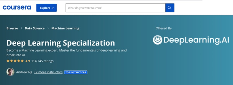 Image Deep Learning Courses - Deep Learning Specialization, Coursera