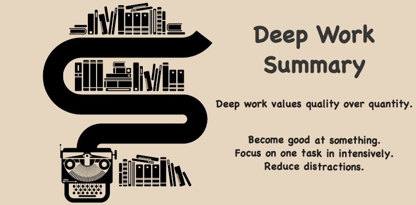 Image of Deep Work Summary - Review, Tips, Conclusions