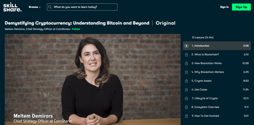 Image Cryptocurrency Course - Demystifying Cryptocurrencies - Understanding Bitcoin - Skillshare