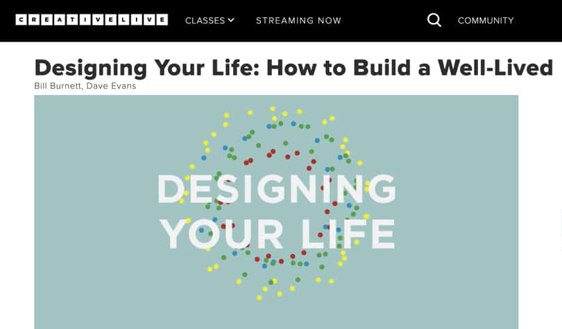 Image Best Personal Development Courses CreativeLive - Designing Your Life