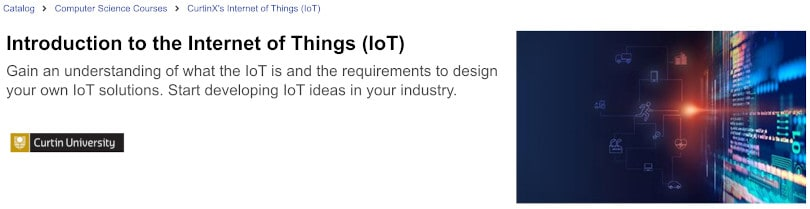 Image of Best edX Courses - Introduction to IoT by Curtin University