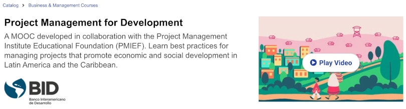 Image of Best edX Courses - Project Management by BID