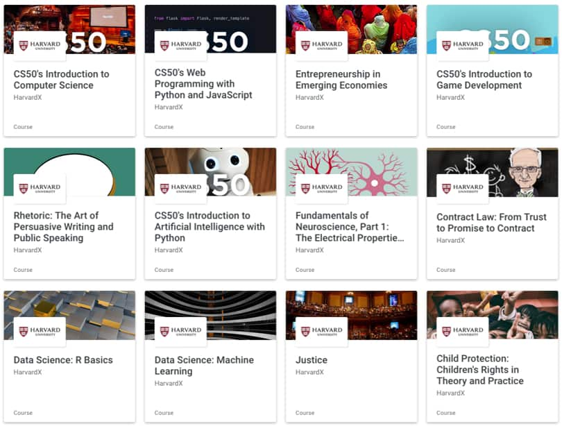 Image edX Review - Content Results