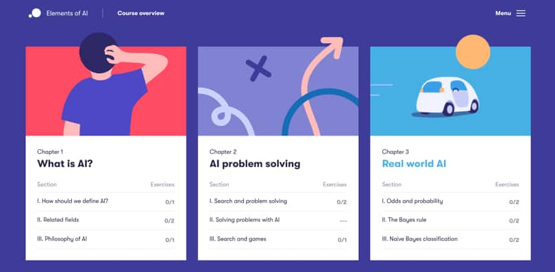 Image Best AI Courses - Elements of AI, University of Helsinki
