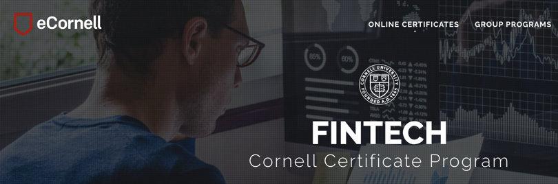 Image Fintech Courses - Fintech Cornell Certification Program