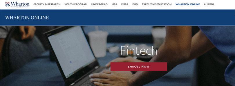 Image Best Fintech Courses - Fintech - Wharton University