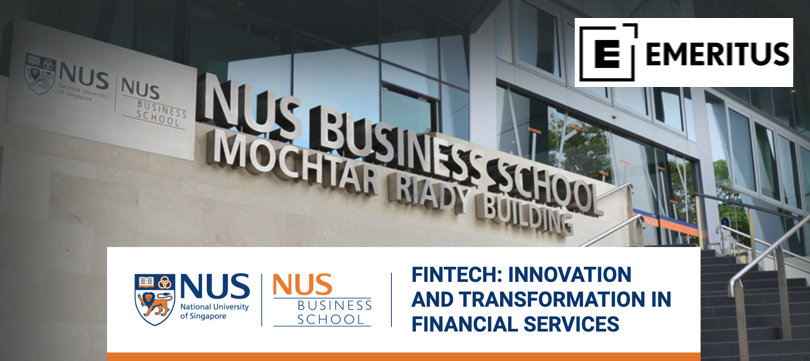 Image Fintech Courses - Innovation and Transformation in Financial Services - NUS Business School