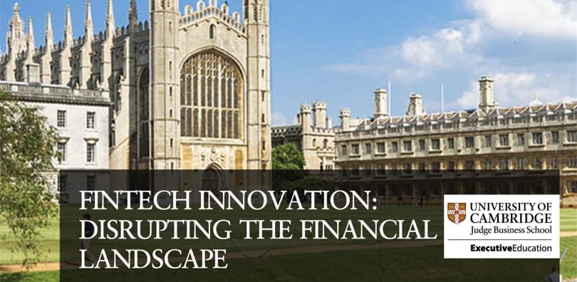 Image Fintech Courses - Fintech Innovation - Cambridge, Emeritus