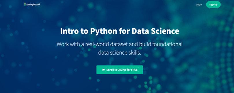 Image Free Springboard Courses - Python
