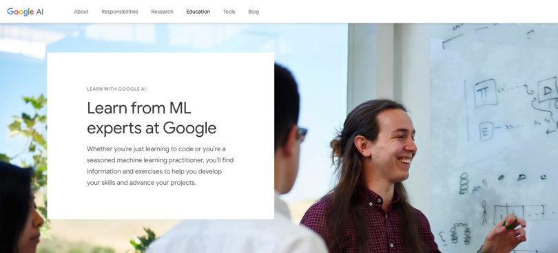 Image Best AI Courses - Google - Learn AI