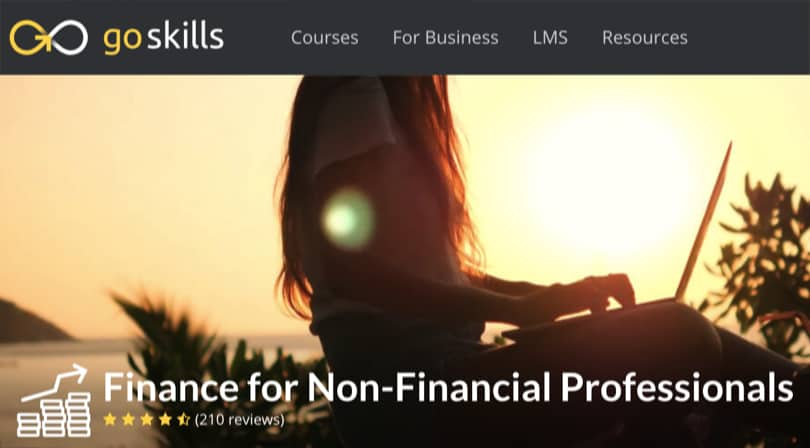 Image Best GoSkills Courses - Finance for Non-Financial Professionals
