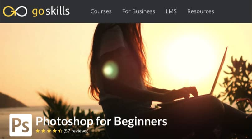 Image Best GoSkills Courses - Photoshop for Beginners
