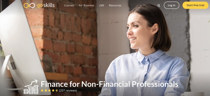 Image Personal Finance Courses - GoSkills - Finance for Non-Finance Professionals