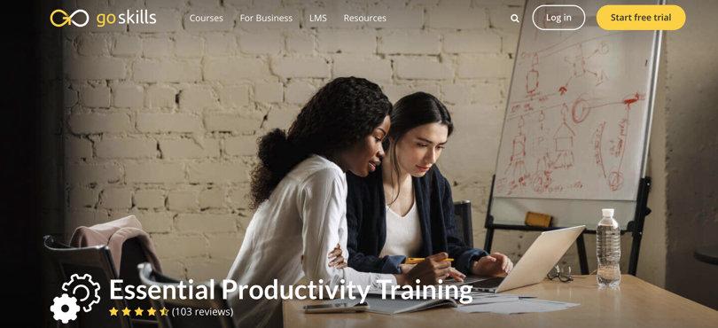 Image Best Productivity Courses - GoSkills - Essential Productivity Training