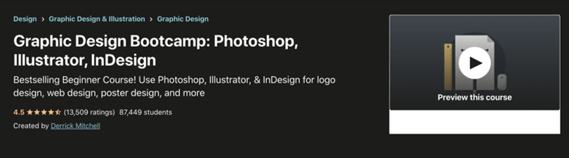 Image Best Graphic Design Courses - Udemy - Best Graphic Design Courses - Udemy - Graphic Design Bootcamp