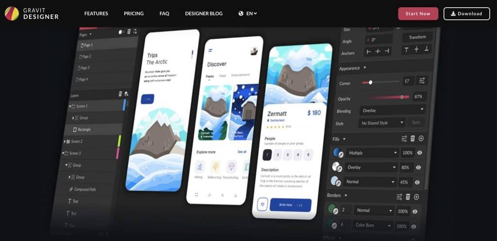 Image Gravit Designer Online Graphic Design Software
