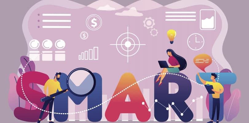 Image Grow Your Online Business - Set SMART Goals