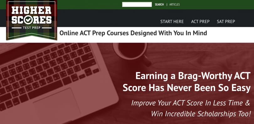 Image Higher Scores ACT Prep Courses - Online