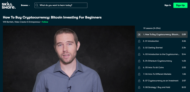 Image Cryptocurrency Course - How To Buy Crypto - Skillshare