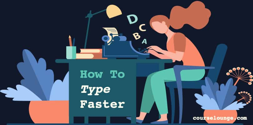 Image How To Type Faster - Touch Typing Techniques