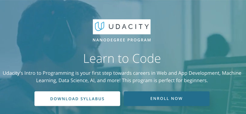 Image HTML & CSS Courses - Learn To Code, Udacity