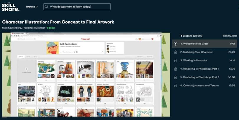 Image Illustrator Courses - Character Illustration, Skillshare