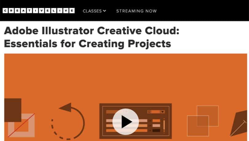Image Illustrator Courses - Creative Cloud Essential Guide CreativeLive