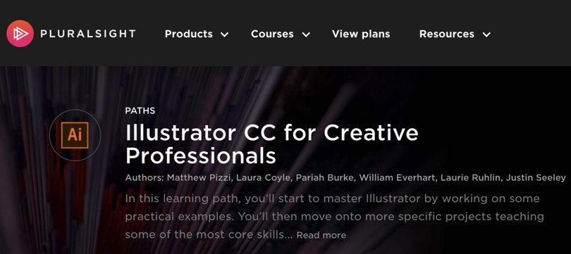 Image Illustrator Courses For Creative Professionals, Path, Pluralsight