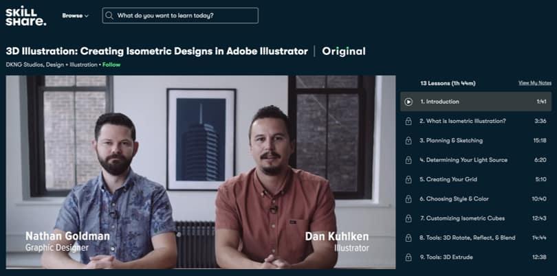 Image Illustrator Courses - 3D Illustration, Skillshare