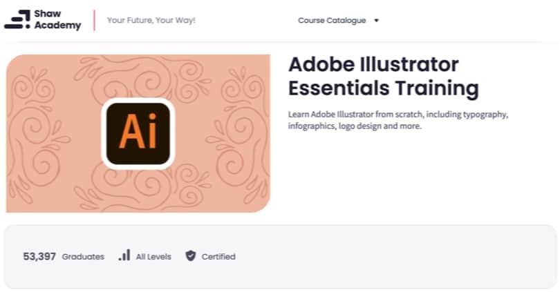 Image Adobe Illustrator Courses - Essentials, Shaw Academy