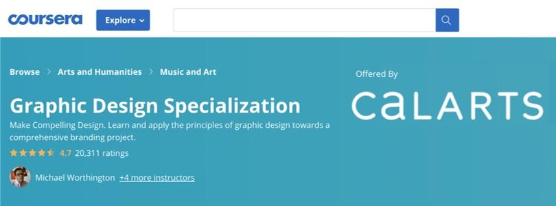 Image Illustrator Courses - Design Specialization Coursera
