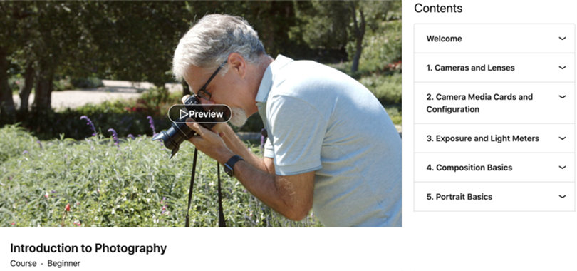 Image Best Photography Courses - Introduction To Photography Linkedin