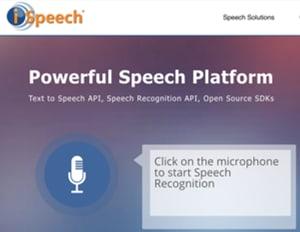 Image Text to Speech Software - iSpeech
