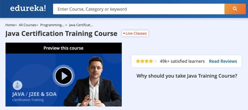 Image Java Courses Online - Java Certification Training Course, edureka