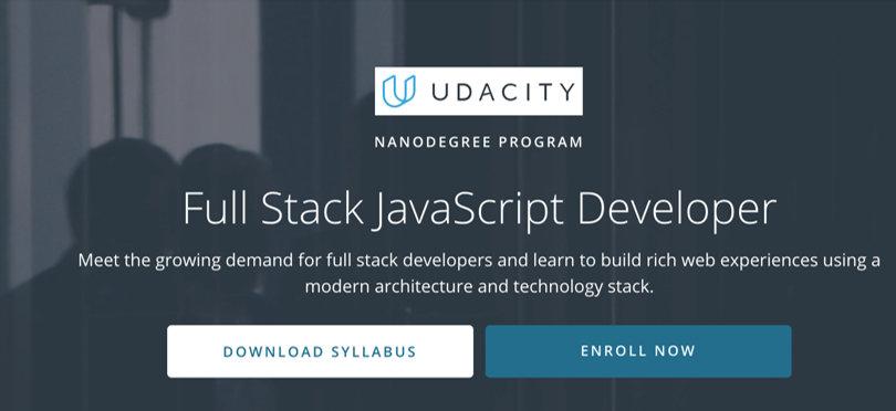 Image Javascript Courses - Full Stack JS Developer, Udacity