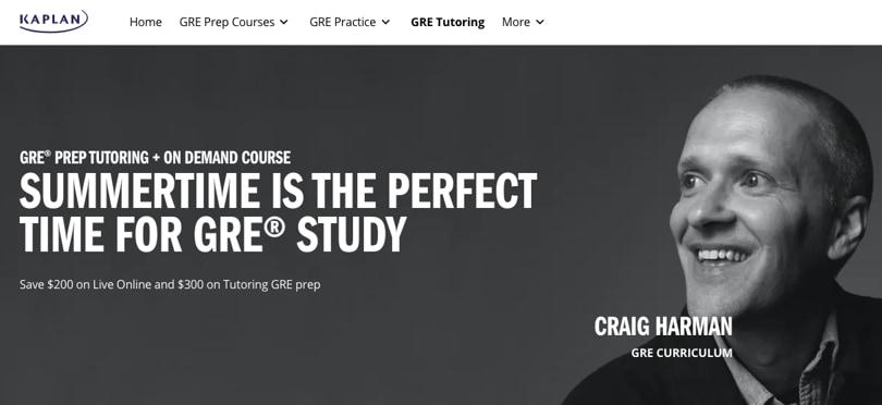 Image Best GRE Courses - Kaplan GRE Prep