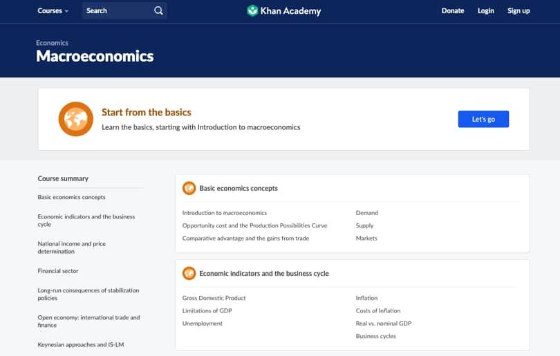 Image Khan Academy Review - Screenshot - Class Example