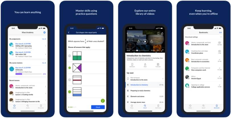 Image Khan Academy Review - Screenshot - iPhone app