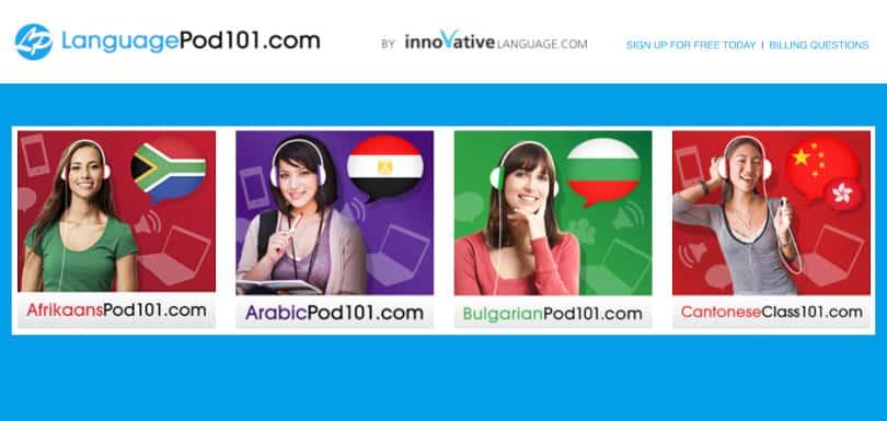 Image Best language courses online -Language Pod 101