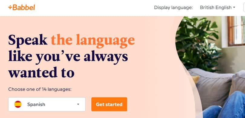 Image Best language courses online - Babbel