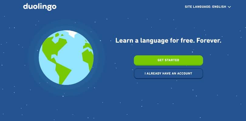 Image Best language courses online - Duolingo