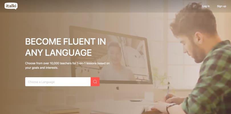 Image Best language learning courses - iTalki