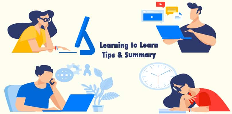 Image Learning How To Learn -Tips & Summary