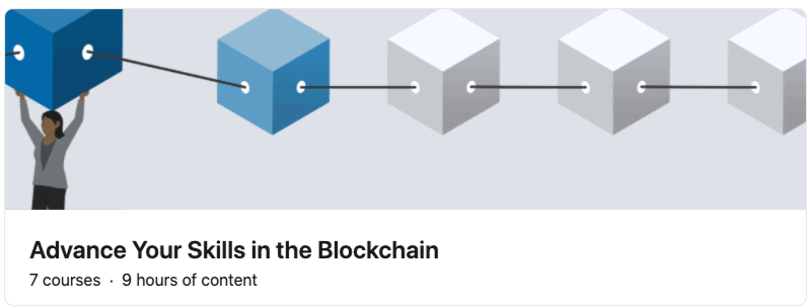 image linkedin-learning cryptocurrency-courses learning path